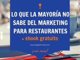 Guía completa sobre marketing para restaurantes
